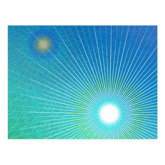 Geometric abstract. postcard