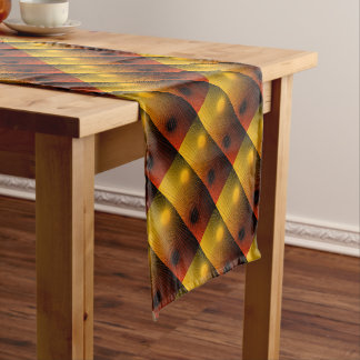 Geometric abstract. short table runner