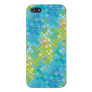 Geometric abstract summer pattern iPhone 5 case