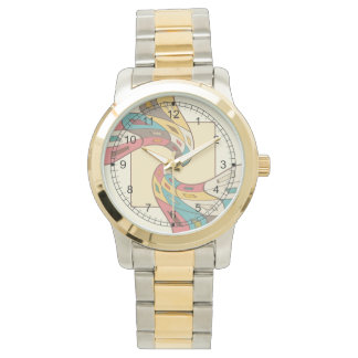 Geometric abstract watch