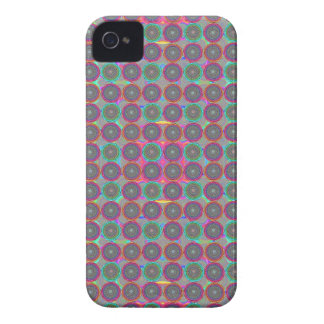 Geometric abstraction iPhone 4 cases