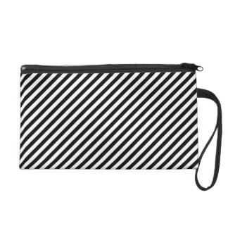 Geometric abstraction wristlet clutch