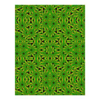 Geometric African Print Customized Letterhead
