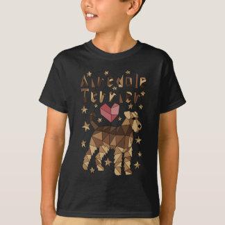 Geometric Airedale Terrier T-Shirt