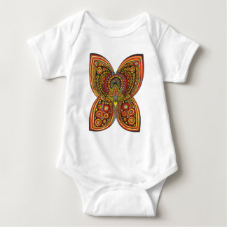 Geometric Angel Butterfly Baby Bodysuit