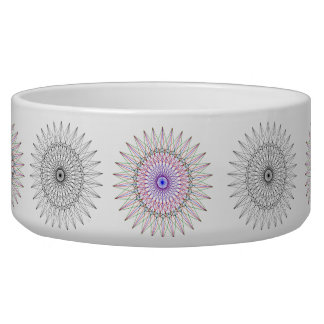 Geometric Arsty Pet Bowl