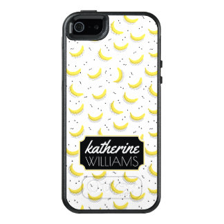 Geometric Bananas | Add Your Name OtterBox iPhone 5/5s/SE Case