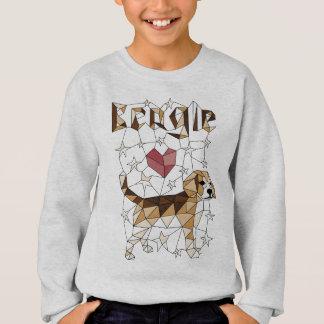 Geometric Beagle Sweatshirt