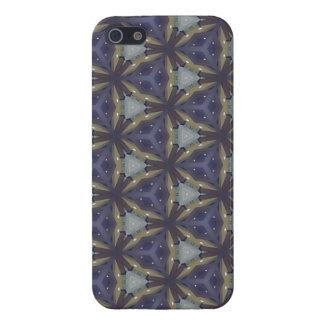 Geometric Blue iPhone 5 Cases