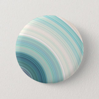 Geometric Blue Rings 2 Inch Round Button