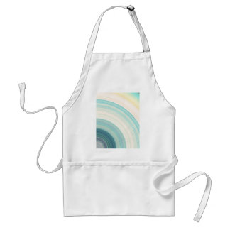 Geometric Blue Rings Standard Apron