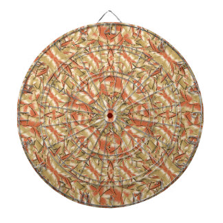 Geometric Bold Cubism Pattern Dart Boards