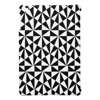 Geometric Bold Retro Funky Black White Cover For The iPad Mini