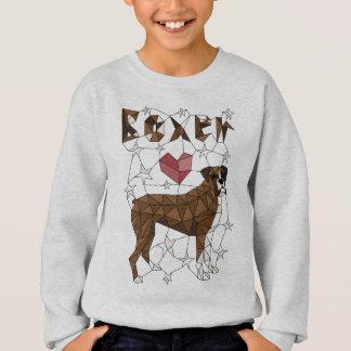 Geometric Boxer Sweatshirt