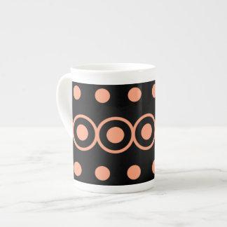 Geometric Bubbles Tea Cup