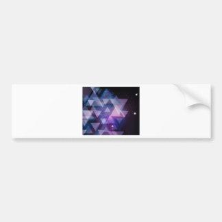 Geometric Bumper Sticker