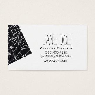 Geometric Business Cards - Unique Customizable