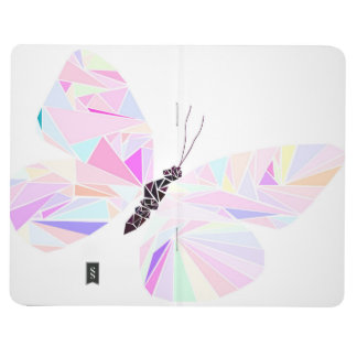Geometric butterfly journal
