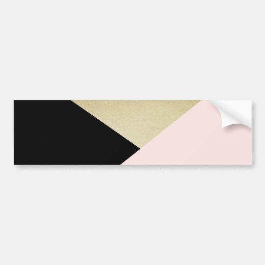 Geometric Cards Blank Stationery Bumper Sticker