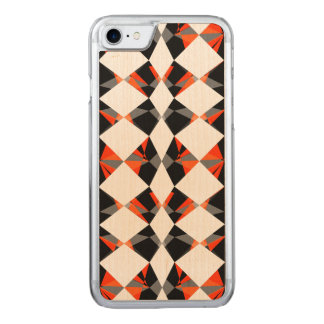 Geometric Carved iPhone 7 Case