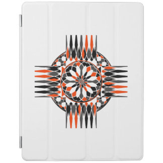 Geometric celtic cross iPad cover