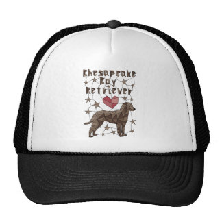 Geometric Chesapeake Bay Retriever Trucker Hat