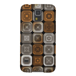 Geometric chocolate pattern galaxy s5 cases
