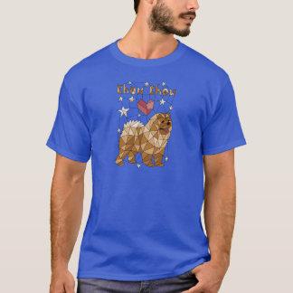 Geometric Chow Chow T-Shirt
