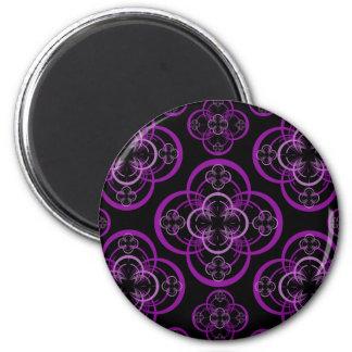 Geometric Circle 2 Inch Round Magnet