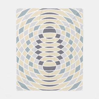 Geometric Circles Abstract Interference  Blanket