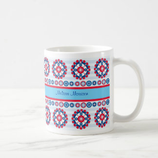 Geometric Circles Mug
