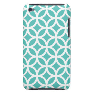 Geometric Cockatoo Turquoise iPod Touch G4 Case
