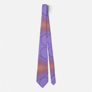 Geometric Color Fade Pattern Tie