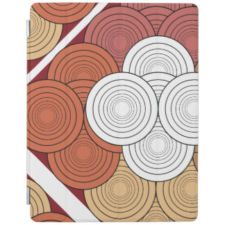 geometric colored for ipad iPad cover
