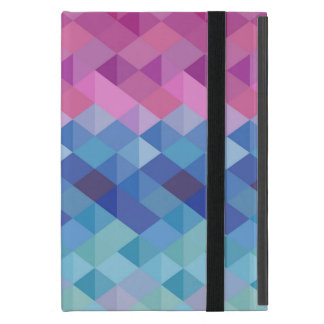 Geometric Coloured Shapes iPad Mini Cover