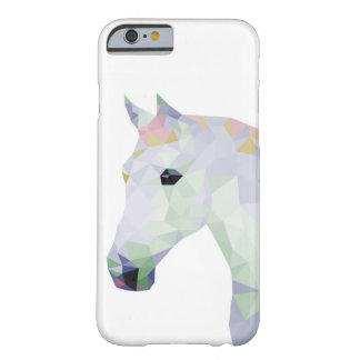 Geometric Colourful Horse Barely There iPhone 6 Case