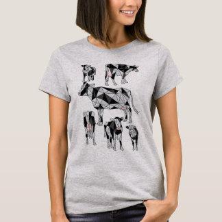 Geometric Cows T-Shirt