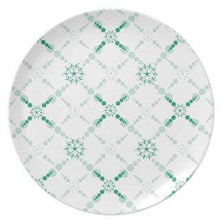 Geometric Crop Circle Party Plate