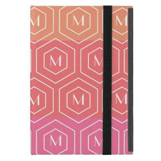 Geometric Custom Monogram Mini iPad Case