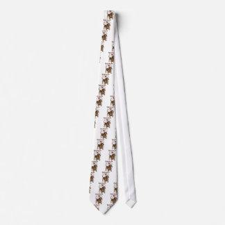 Geometric Dachshund Tie