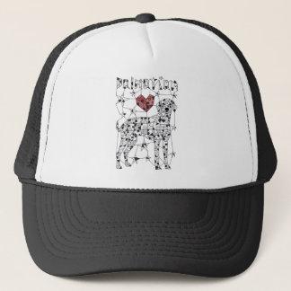 Geometric Dalmatian Trucker Hat