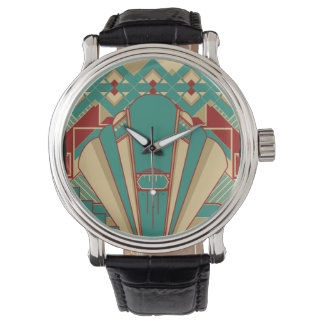 Geometric Deco Design Watch
