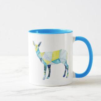 Geometric Deer Animal Mug