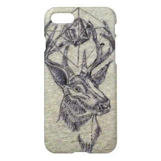geometric deer iPhone 7 case