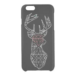 Geometric Deer Phone Case Black