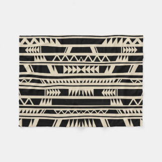 Geometric Design Ethnic Tribal Print Fleece Blanket