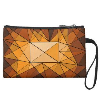 Geometric Diamond Jewel Bag Wristlet Purses