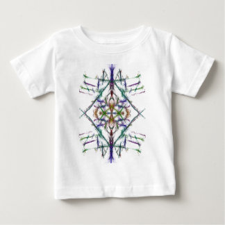 Geometric drawing on white background baby T-Shirt