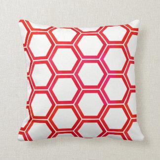 geometric dual side pillow