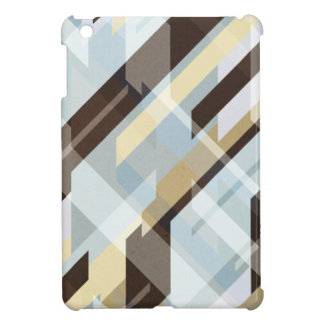 Geometric Earth Tones Abstract Cover For The iPad Mini
